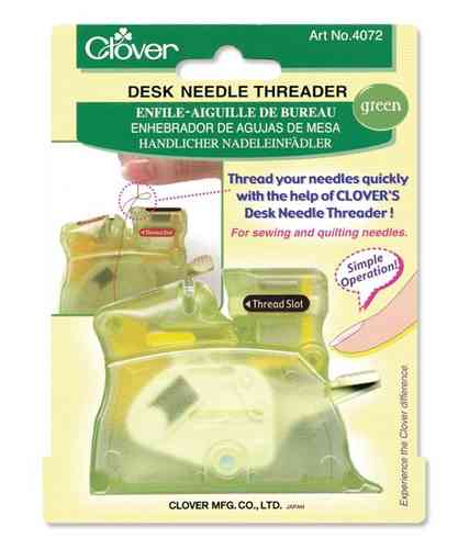 Green Desk Needle Threader