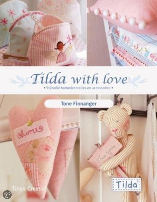 Tildas Winterwonderland Patronen.Tilda With Love