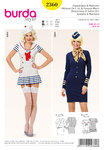 Burda Stewardess & Sailor Girl