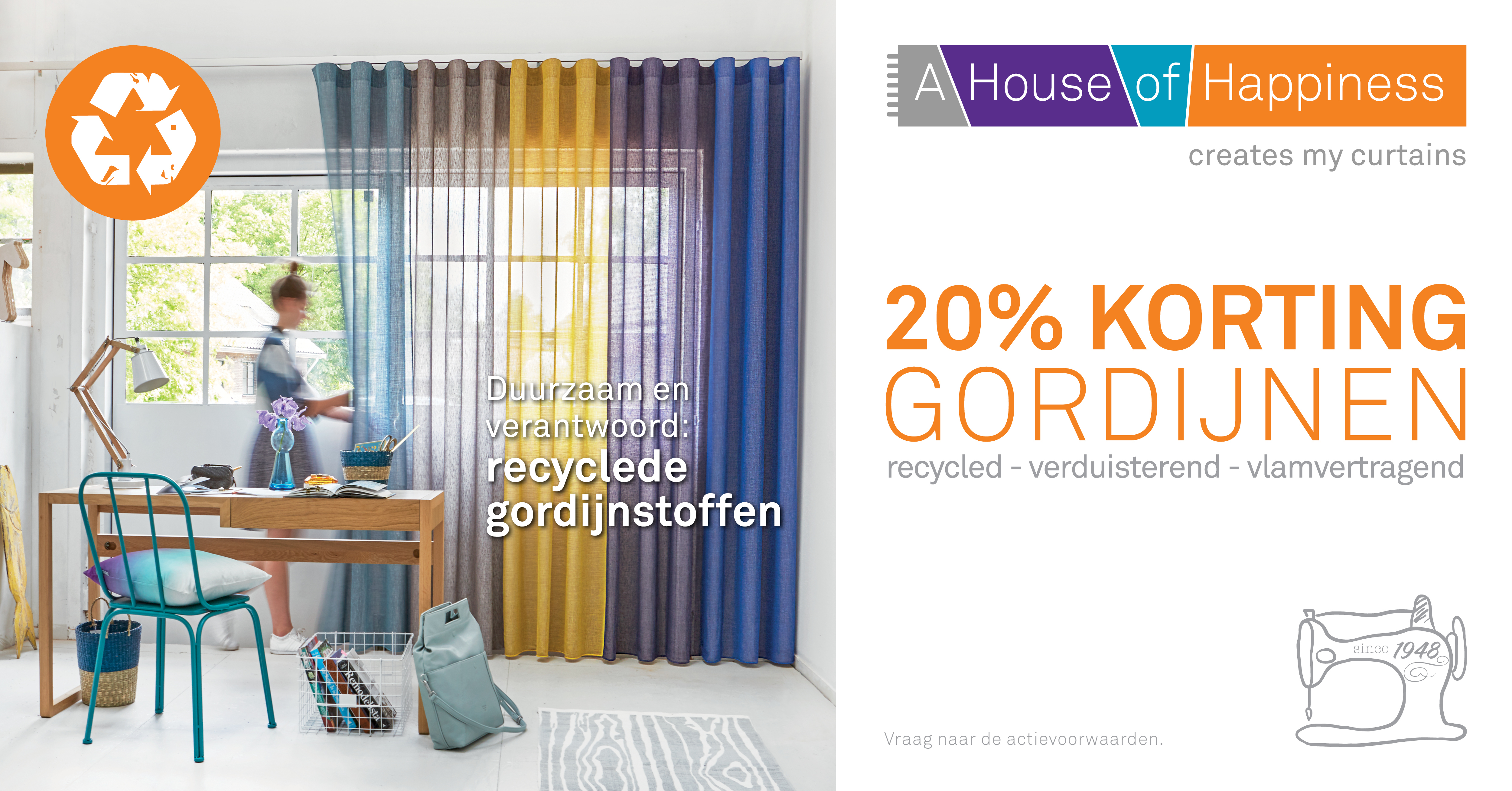 Voorjaarsactie A House of Happiness